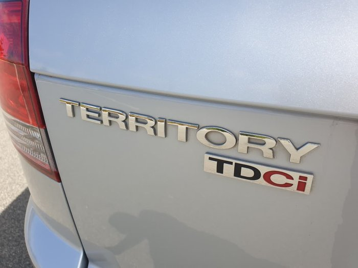 2013 Ford Territory TS SZ Silver