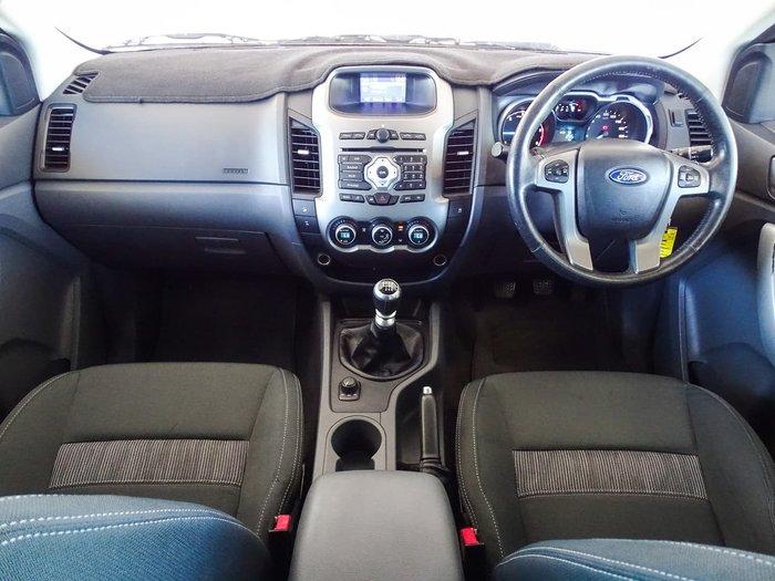 2012 Ford Ranger XLT PX 4X4 Dual Range White