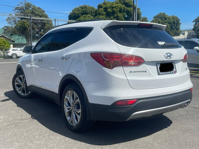 2014 Hyundai Santa Fe Highlander DM2 MY15 4X4 On Demand White