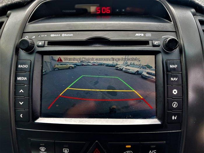 2012 Kia Sorento Platinum XM MY12 Four Wheel Drive Titanium Silver
