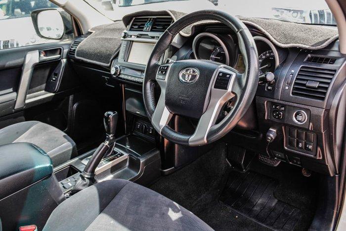 2015 Toyota Landcruiser Prado GXL KDJ150R MY14 4X4 Dual Range White