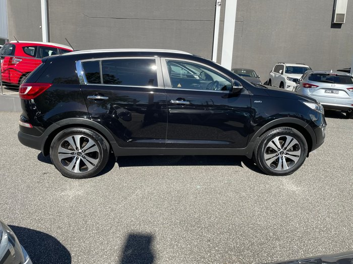 2012 Kia Sportage Platinum SL MY13 4X4 On Demand Black Cherry