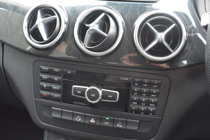 2013 Mercedes-Benz B-Class B200 BlueEFFICIENCY W246 Brown