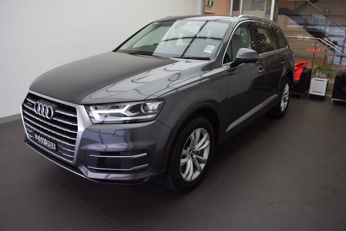 2018 Audi Q7 45 TDI 4M MY19 Four Wheel Drive Samurai Grey