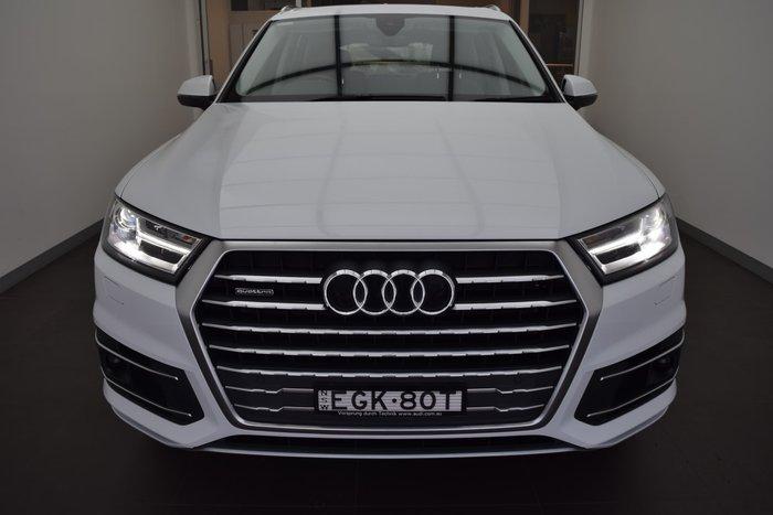 2018 Audi Q7 45 TDI 4M MY19 Four Wheel Drive Glacier White