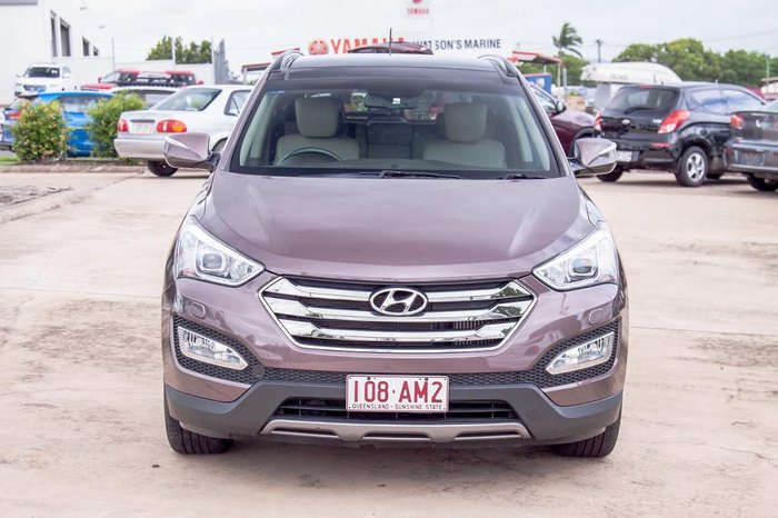 2013 Hyundai Santa Fe Highlander DM MY14 4X4 On Demand Bronze