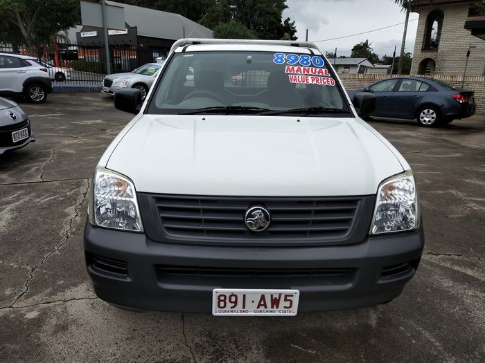 2004 Holden Rodeo DX RA White