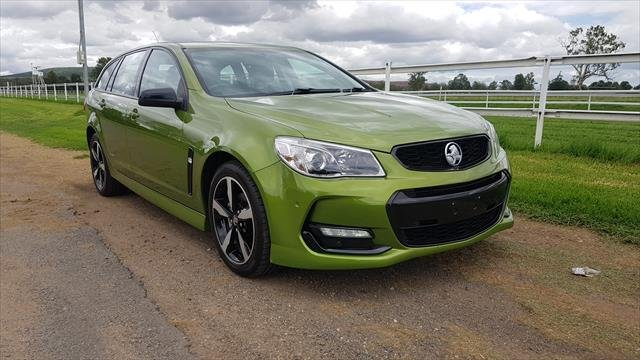 2016 HOLDEN COMMODORE SV6 BLACK EDITION VFII MY16 Green