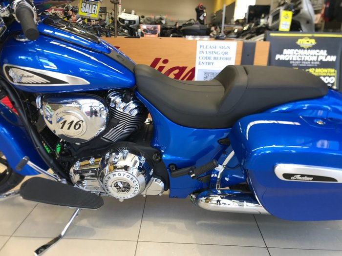 2021 Indian 2021 INDIAN 1900CC CHIEFTAIN LIMITED RADAR BLUE CRUISER Blue