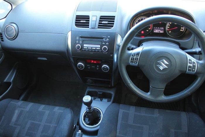 2012 Suzuki SX4 S GYA MY11 Orange