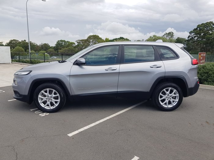 2015 Jeep Cherokee Sport KL MY15 Grey