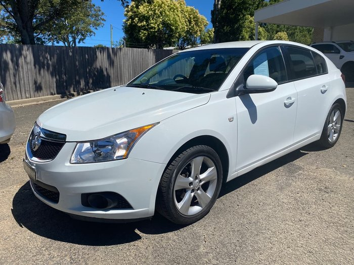 2012 Holden Cruze CD JH Series II MY12 White
