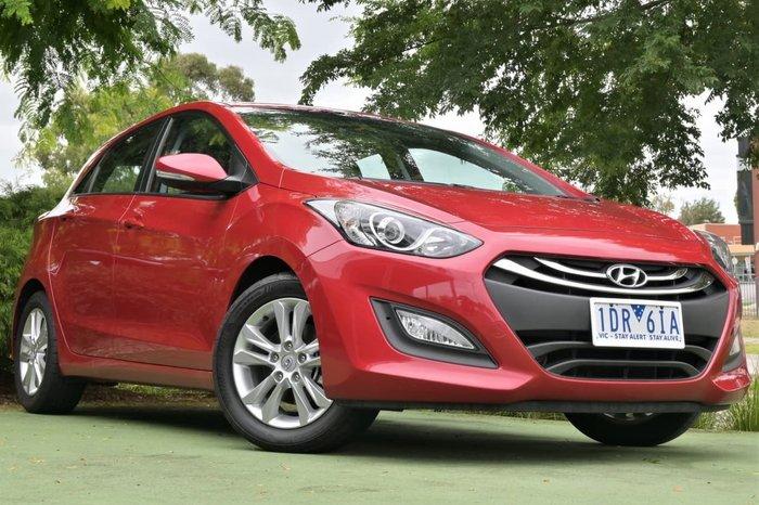 2014 Hyundai i30 SE GD2 MY14 Red