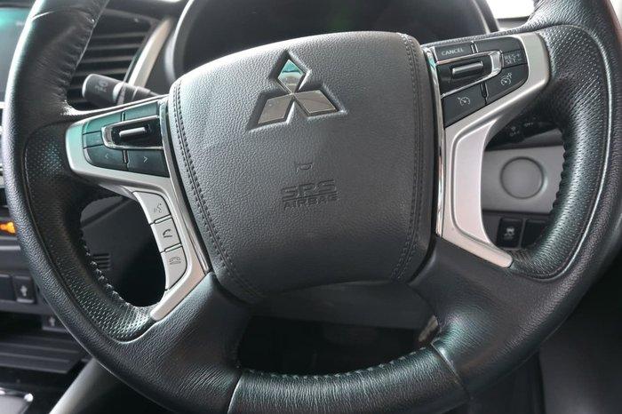 2018 Mitsubishi Triton GLS MQ MY18 4X4 Dual Range Black