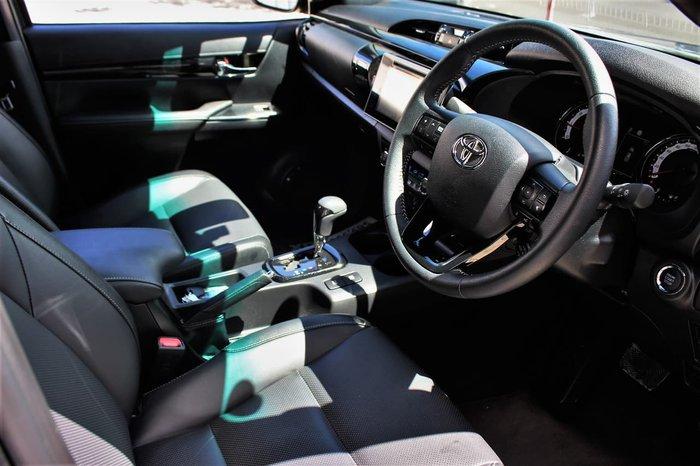 2020 Toyota Hilux Rogue GUN126R 4X4 Dual Range Grey