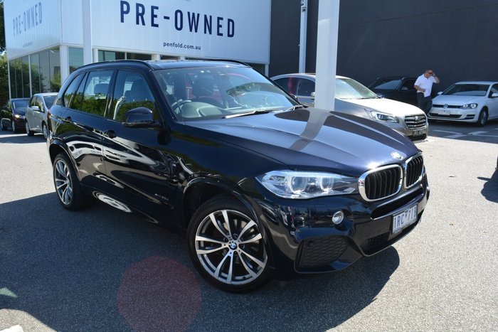2016 BMW X5 xDrive30d F15 4X4 Constant Carbon Black