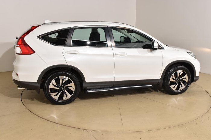 2015 Honda CR-V Limited Edition RM Series II MY17 4X4 On Demand White