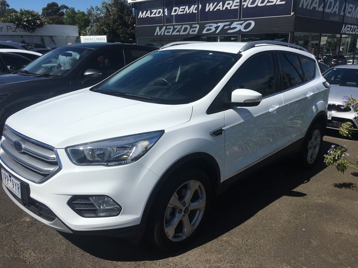 2017 Ford Escape Trend ZG MY18 4X4 On Demand White