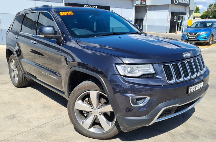 2015 Jeep Grand Cherokee Limited WK MY15 4X4 Dual Range Grey