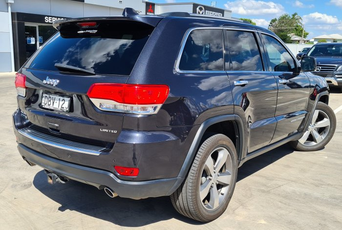 2015 Jeep Grand Cherokee Limited WK MY15 4X4 Dual Range True Blue Pearl