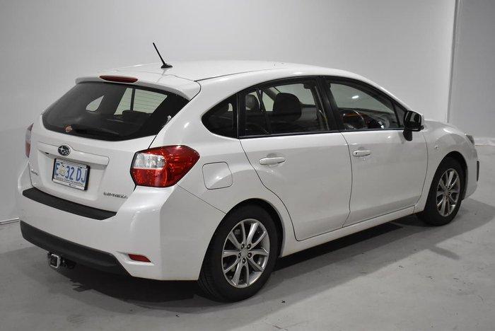 2014 Subaru Impreza 2.0i Luxury G4 MY14 Four Wheel Drive Satin White Pearl