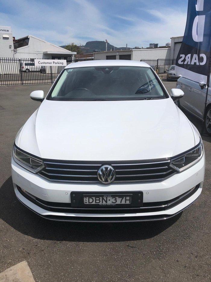 2015 Volkswagen Passat 140TDI Highline B8 MY16 Pure White