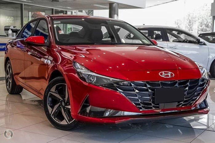 2020 Hyundai i30 Active CN7.V1 MY21 Fiery Red