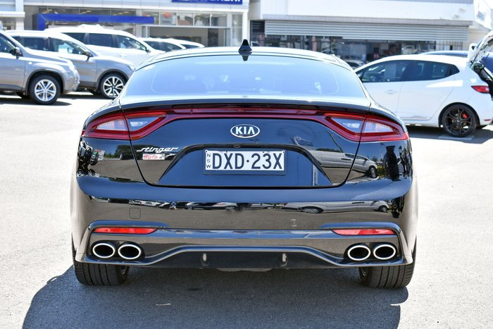2017 Kia Stinger Rafa Signature Edition CK MY18 Aurora Black