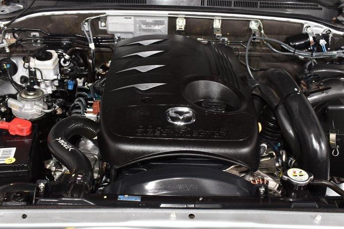 2008 Mazda BT-50 DX UN Silver