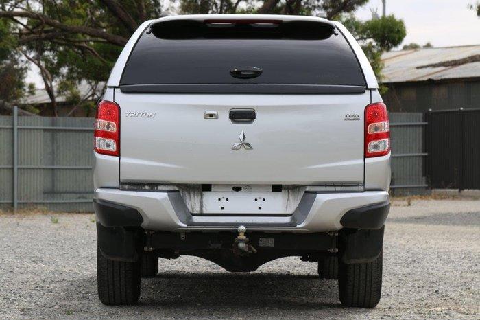 2016 Mitsubishi Triton GLX+ MQ MY16 4X4 Dual Range Silver