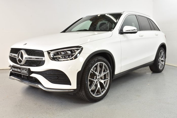 2019 Mercedes-Benz GLC-Class GLC200 X253 Polar White
