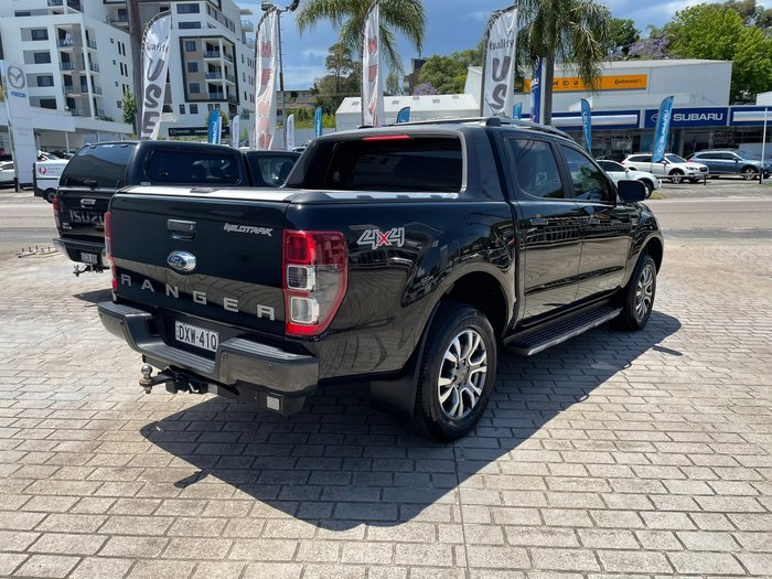 2018 Ford Ranger Wildtrak PX MkII MY18 4X4 Dual Range Shadow Black