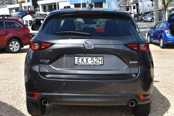 2017 Mazda CX-5 Maxx Sport KF Series AWD Machine Grey