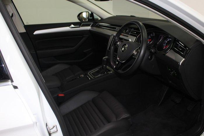 2018 Volkswagen Passat 132TSI Comfortline B8 MY19 Pure White