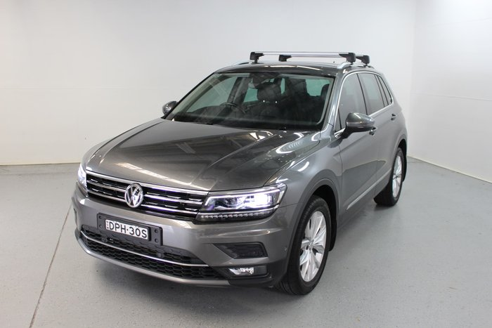 2017 Volkswagen Tiguan 140TDI Highline 5N MY18 Four Wheel Drive Indium Grey
