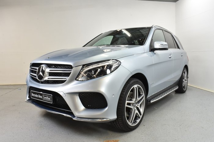 2018 Mercedes-Benz GLE-Class GLE350 d W166 Four Wheel Drive Diamond Silver