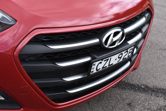 2015 Hyundai i30 Active GD3 Series II MY16 Fiery Red