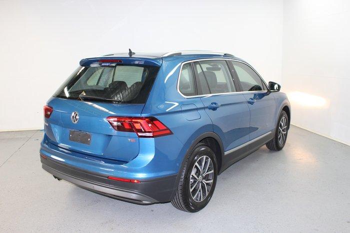 2017 Volkswagen Tiguan 110TSI Comfortline 5N MY17 Caribbean Blue