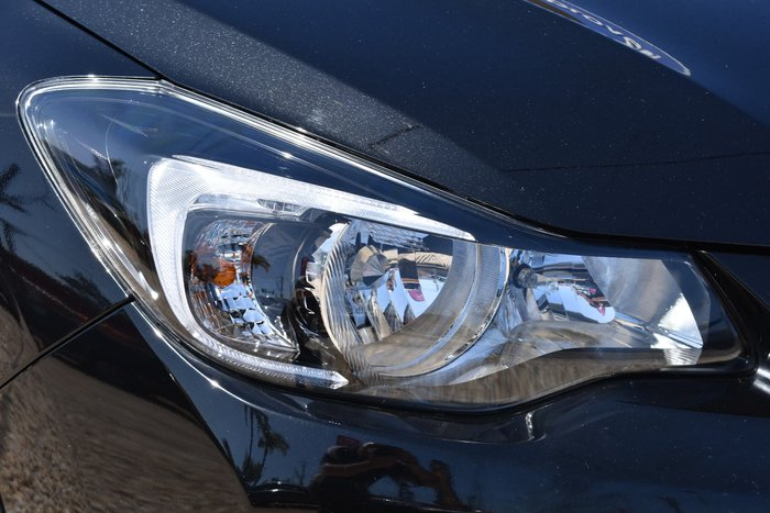 2016 Subaru XV 2.0i G4X MY16 Four Wheel Drive Crystal Black