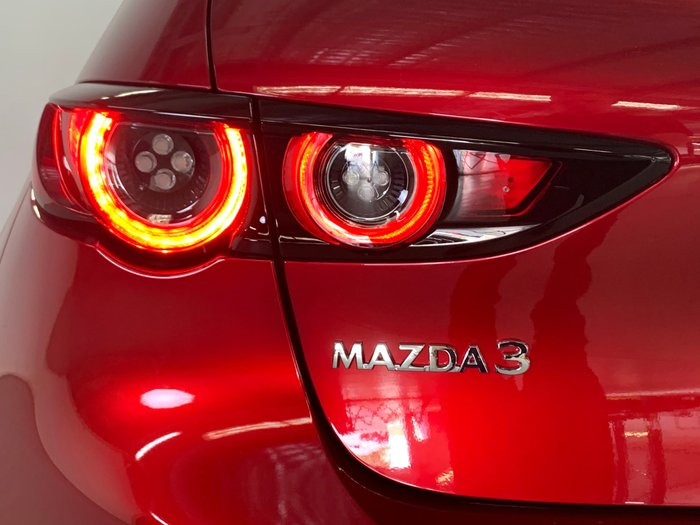 2020 Mazda 3 G25 Astina BP Series Soul Red Crystal