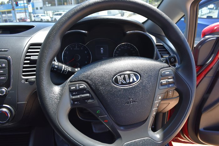 2017 Kia Cerato S YD MY17 Temptation Red
