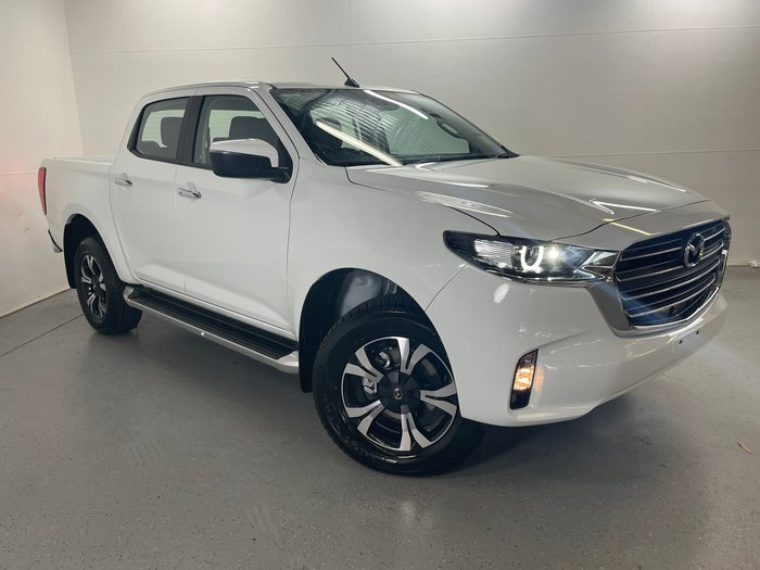 2020 Mazda BT-50 XTR TF Ice White