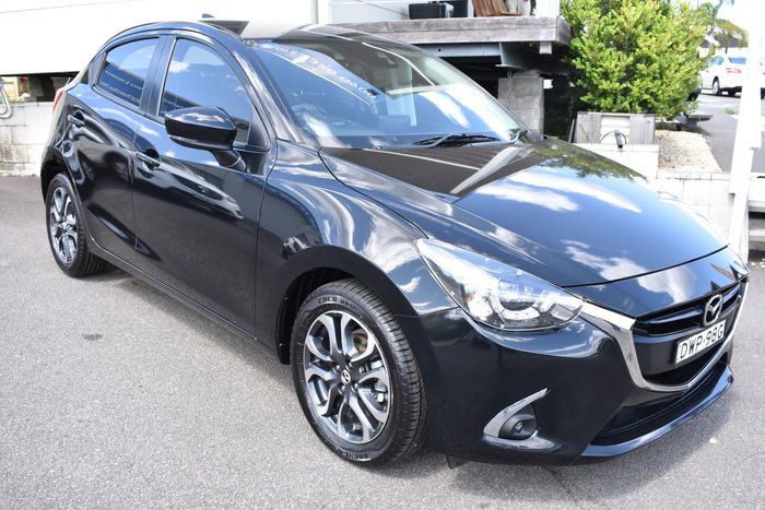 2018 Mazda 2 Genki DJ Series Jet Black