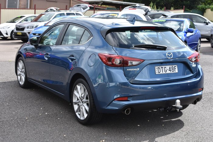 2017 Mazda 3 SP25 GT BN Series Eternal Blue