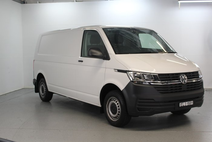 2020 Volkswagen Transporter TDI340 T6.1 MY20 Four Wheel Drive Candy White