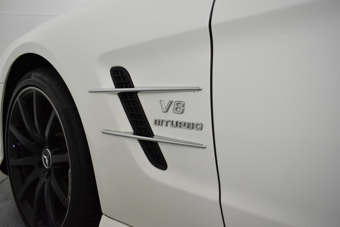 2013 Mercedes-Benz SL-Class SL63 AMG R231 Diamond White BRIGHT