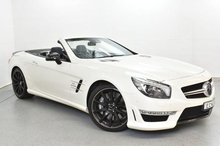 2013 Mercedes-Benz SL-Class SL63 AMG R231 Diamond White BRIGHT