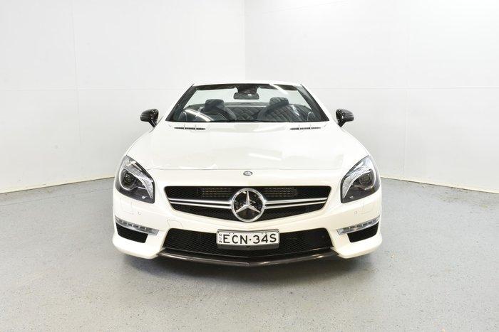 2013 Mercedes-Benz SL-Class SL63 AMG R231 White