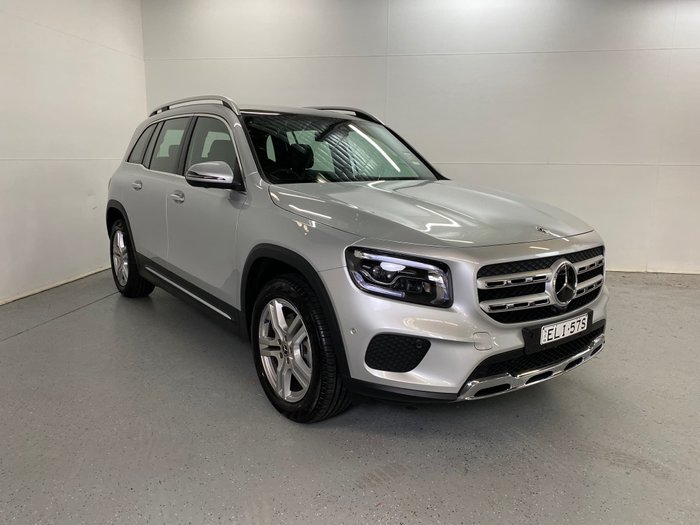 2020 Mercedes-Benz GLB-Class GLB250 X247 Four Wheel Drive Iridium Silver