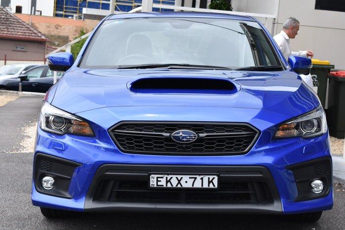 2017 Subaru WRX Premium V1 MY17 Four Wheel Drive WR Blue